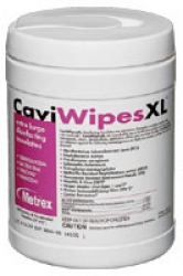 Disinfectant towelettes, XL, 65/cannister, Caviwipes