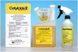 Disinfectant, Hard Surface, 32oz Concentrate, Cetylcide II