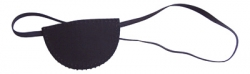Eye Patch Flat with Elastic band, 12/pack