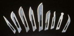 Blades, #15 Stainless Steel  Sterile, 50/box (Not Available for sale into Canada)