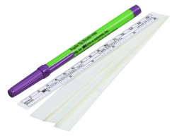 Marker, Skin,Surgical, Regular Tip with Flexi-Ruler, Devon