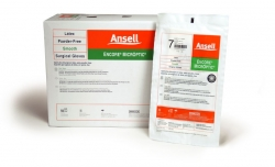 Gloves, Surgical, Powder-Free Latex Size 6.5, 50/box, Ansell Encore MicrOptic