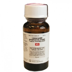 Lidocaine Hydrochloride Topical Solution, 4%, 50mL