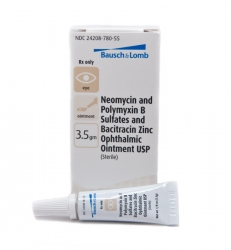 Neomycin Sulfate And Polymyxin B Sulfate, Bacitracin Zinc, Ophthalmic Ointment, USP 3.5gm (Sterile)