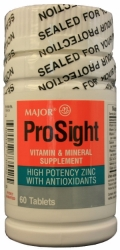 Prosight Multivitamin Supplement with Minerals Tablets 60/Bottle