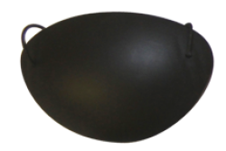 Eye Patch, Plastic with out foam Black