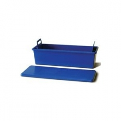 Plastic soaking tray  with lid 13x7x5