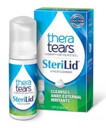 TheraTears SteriLid Eyelid Cleanser Foam Solution, 1.68oz